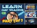 Learn Day Trading Series 1 of 7 - Vinny Emini Mentorship Program | Day Trading for Beginners & Pros