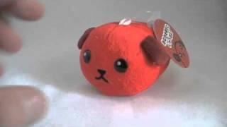 Talking Mameshiba Chili Bean Bag Charm / Small Plush Soooo Cute