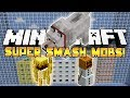 *HILARIOUS!* Minecraft Mini-Game: Smash Mobs! #2 w/Preston, Nooch & Juice!