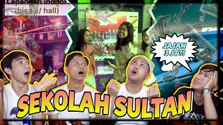 SEKOLAH ANAK PEJABAT! REACTION PRIVATE SCHOOL CHECK