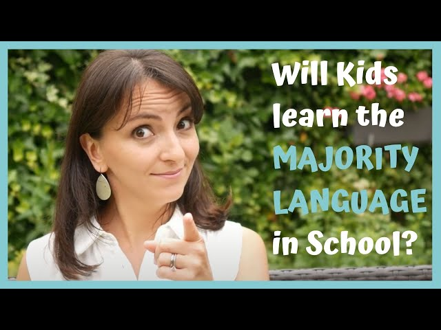 My Child Will Learn The Majority Language Automatically in School – or not?