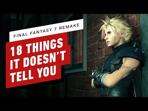 18 Tips & Secrets Final Fantasy 7 Remake Doesn't Tell You - IGN