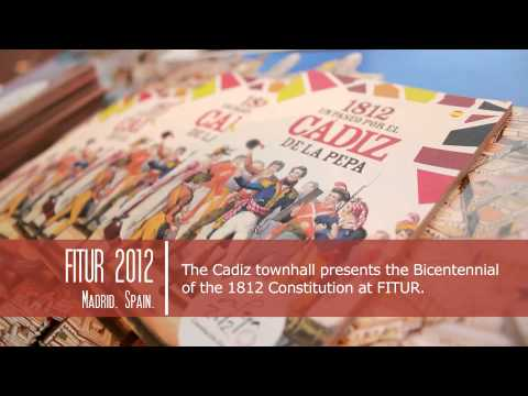 FITUR 2012, MADRID, SPAIN. BICENTENARY OF THE SPANISH CONSTITUTION OF 1812, LAPEPA FITUR ENG