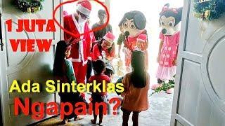 Sinterklas Ngantar Hadiah Ke rumah, Kakak Dan Dede Senang Sekali?