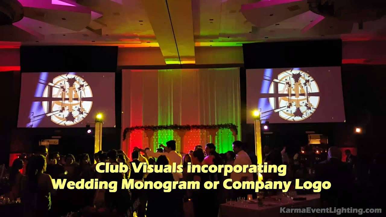 event ideas - social media live feed and club visuals by karma event