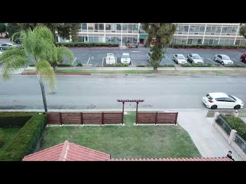 DIY Fence Drone Shots