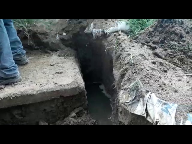 Alerta por fuga de aguas servidas en Bonda