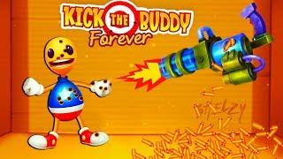 АНТИСТРЕСС ПРОТИВ ПУЛЕМЕТА! Уничтожь любым способом - Kick the Buddy Forever