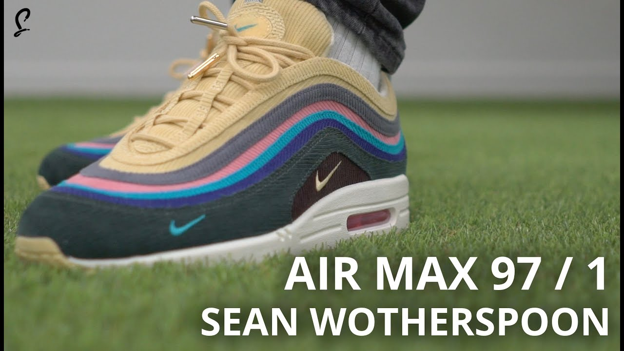 46665bc9bd1d Boogers and Breakfast - SEAN WOTHERSPOON NIKE AIR MAX 97 1 UNBOXING ...