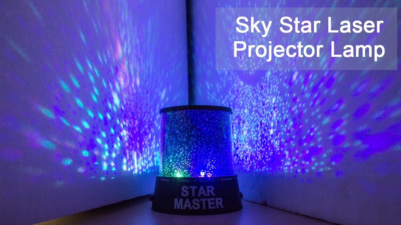 Amazing Sky Star Laser Projector Lamp Starry Night Light Gearbest