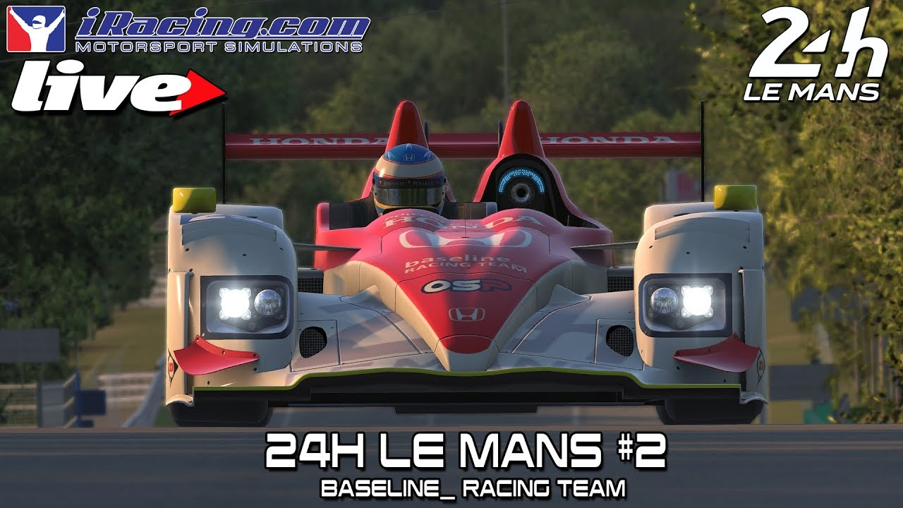 iracing live 24h le mans live 2 baseline24h youtube. Black Bedroom Furniture Sets. Home Design Ideas