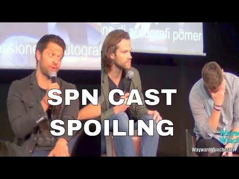 Supernatural Cast Can't Stop Their SPOILERS Of Supernatural & Everything Else
