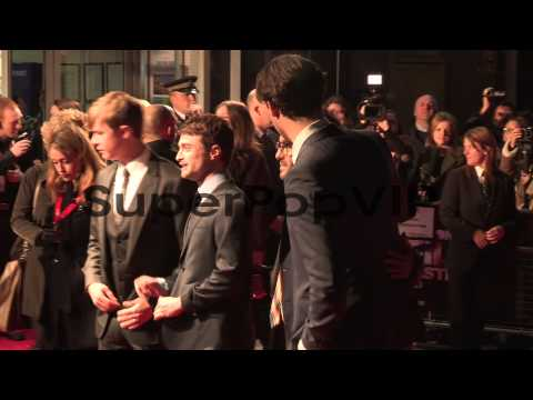 Daniel Radcliffe, John Krokidas, Dane DeHaan, Jack Huston...