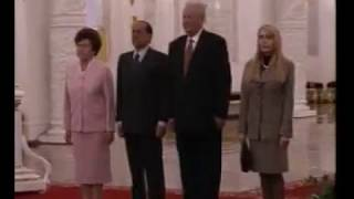 SD Version - Italy visit Russia 1994 - Anthems