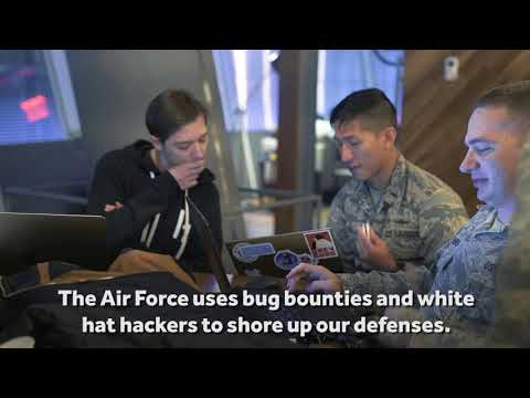 Live-hacking And Cybersecurity Education With The U.S. Air Force For H1-212 In NYC