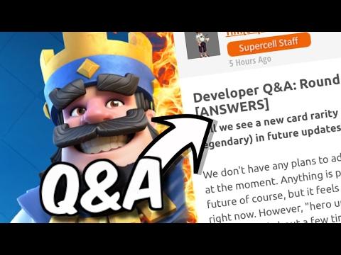 Clash Royale Developer Q&A :: Legend Trophies, Tournaments, Clan Chests & More!