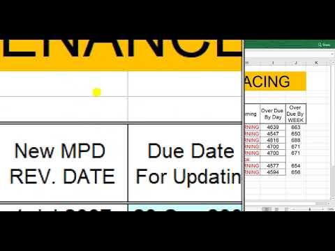 Aircraft Maintenance program tracing