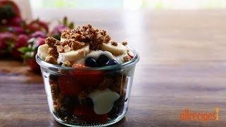 Breakfast Recipes - Summer Berry Parfait