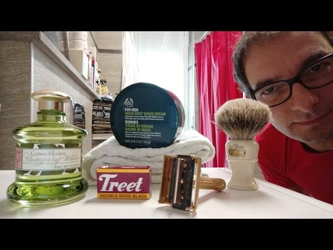 Gillette Aristocrat Gold - Treet Carbon - Maca Root - The Colonel X2L - Crabtree & Evelyn Hungary