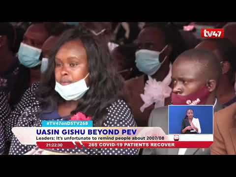 Uasin Gishu religious leaders, elders and political leaders say the region is past 2007/08 PEV