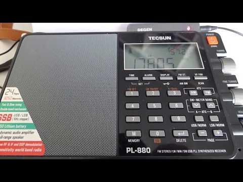 17805 kHz - RADIO SAUDI (Arabic)