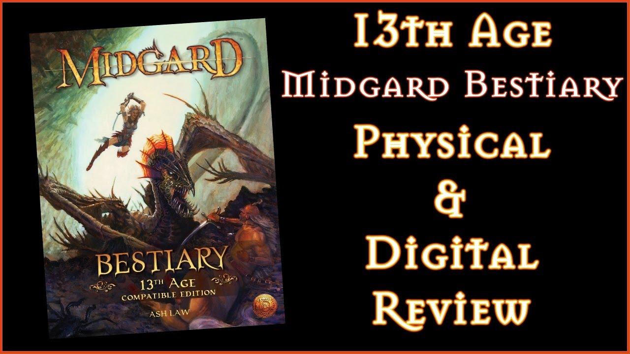 Midgard Bestiary Pdf