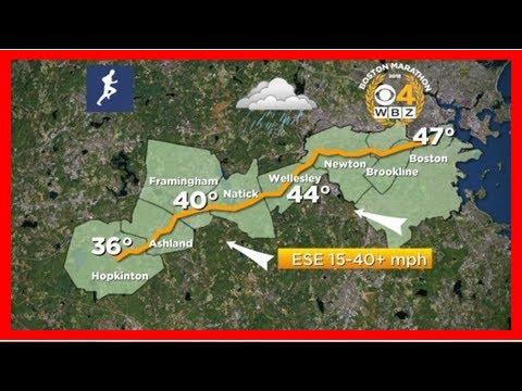 Breaking News | Boston Marathon Weather Forecast: Wind, Rain, Cold
