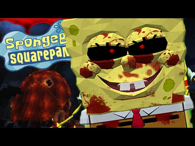 EVIL SPONGEBOB.EXE TAKES OVER BIKINI BOTTOM AND SCARES LITTLELIZARD! - Minecraft Ghost Stories
