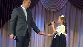 Песня про Папу. Дочка поет с папой!