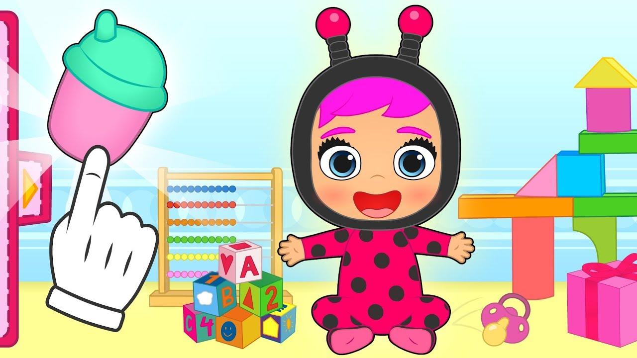 Bebe Lily Disfraz De Bebé Mariquita Dibujos Animados Infantiles Youtube