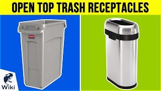 10 Best Open Top Trash Receptacles 2019