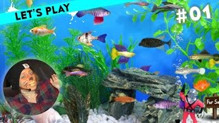 [1] Let's Play Fish Tycoon mit Sofia | 30.11.2015