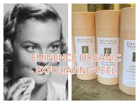 NEW PRODUCT | Eminence Organic Exfoliating Peel - Firm Skin | BethanyKaaay