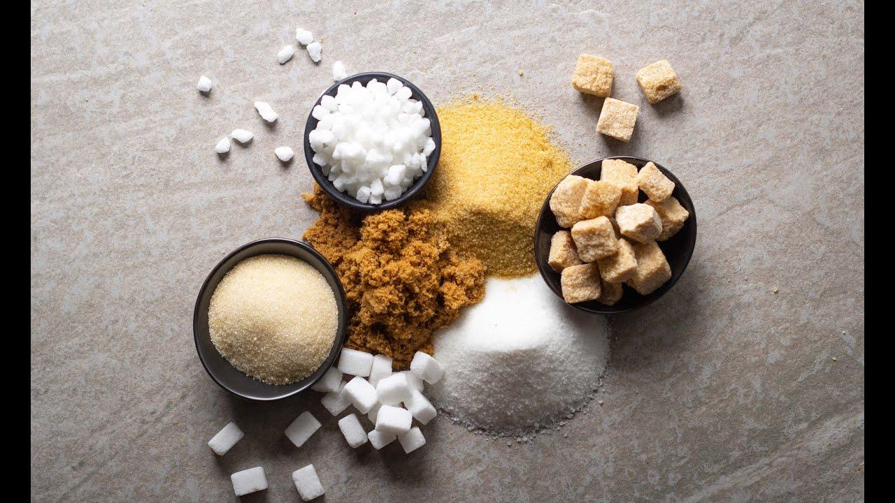 أنواع السكر، استخداماتها، بدائلها (و وصفة كوكيز بالمارشميلو)