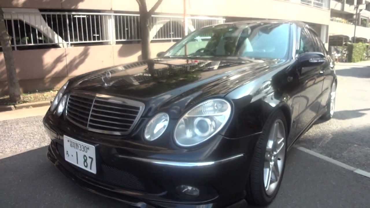 All Types 2003 mercedes e55 amg : 2003 Mercedes Benz E55 AMG - For sale Tokyo Japan - YouTube