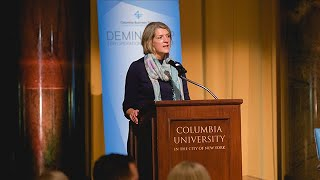 2018 Deming Cup: Beth Ford's Introduction of Douglas M. Baker, Jr.