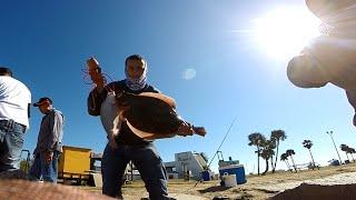 Flounder fishing Galveston, Tx (Seawolf Park) GoPro Hero 3+ 720p HD