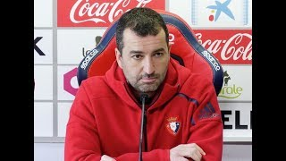 Diego Martínez. Previa Sporting-Osasuna