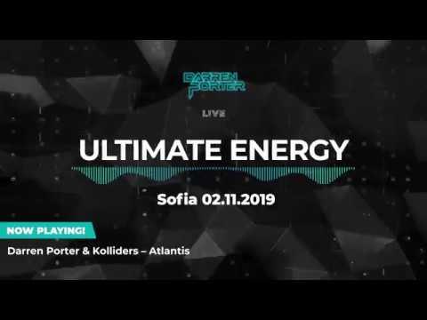 DARREN PORTER [FULL SET] - Ultimate Energy Sofia 2019