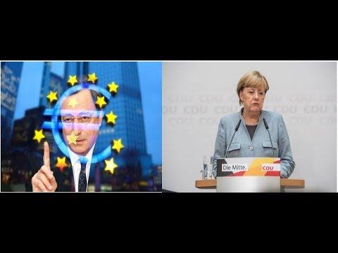 EZB - Draghi trifft Merkel! Videoausblick