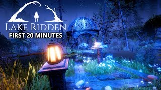 Lake Ridden - First 20 Minutes Gameplay (CREEPY Puzzle Adventure Game 2018)