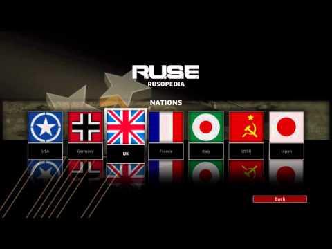 R.U.S.E - Rusopedia Overview