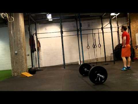 CrossFit 312: test wod 1.