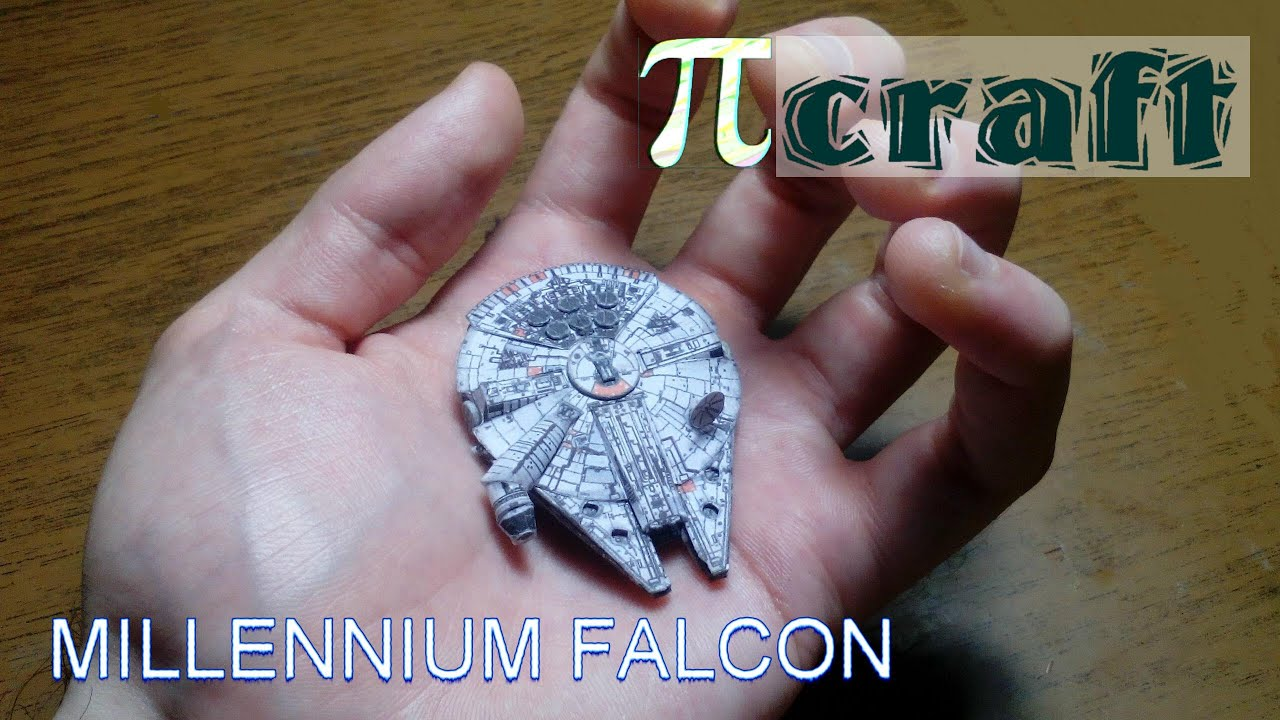 Papercraft Millennium Falcon papercraft (mini)