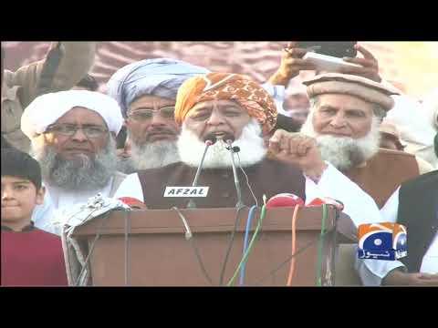 Na-Jaiz Hukumrani Ko Na Tasleem Karein Ge, Na Chalney Dein Ge, Fazal ur Rehman