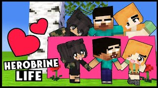 HEROBRINE'S Life FULL EPISODE (SEASON 6): With ALEX and SPIDER: MONSTER SCHOOL MINECRAFT ANIMATION
