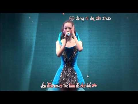 [Vietsub + kara] Họa tâm - Jane Zhang Trương Lượng Dĩnh - Live concert