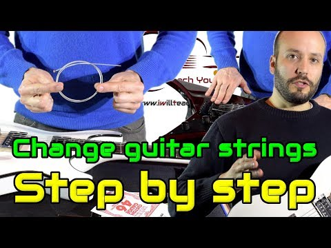 How to change Strings, step by step