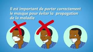 COVID19 masque swahili