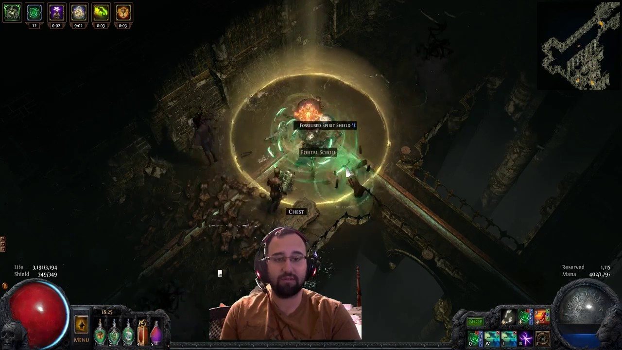 Push Gauntlet Path Of Exile Labyrinth Youtube